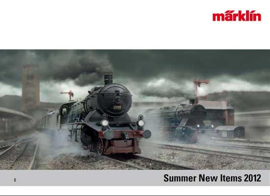 メルクリン 新製品カタログ 2012 夏