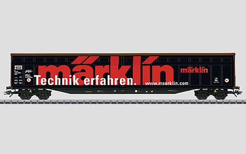 maerklin/メルクリン 48058 スライディングボックス貨車 Habiins 12