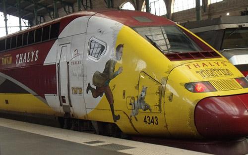 maerklin/メルクリン 37795 高速列車10両セット Tim Und Struppi THALYS(タリス) PBKA