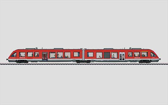 """maerklin/メルクリン 39730 ディーゼル通勤車 DBAG BR648.2 液晶パネル付""""border="""