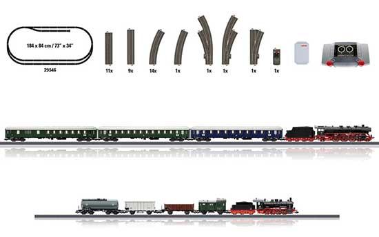 maerklin/メルクリン 29445 メガスターターセット CS2, BR03mfx+,BR55mfx+付