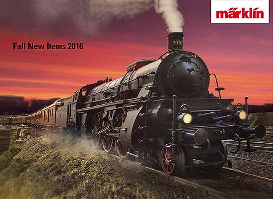 メルクリン/marklin 2016年なつ秋の新製品カタログ