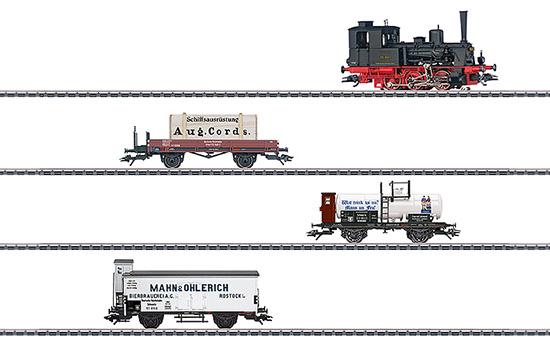 maerklin/メルクリン 26614 蒸気機関車 DRG BR89.80 + 貨車3両